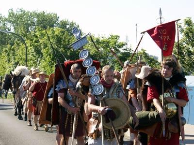 Legionäre der Römerkohorte Niederrhein | Foto: Fiete Stegers