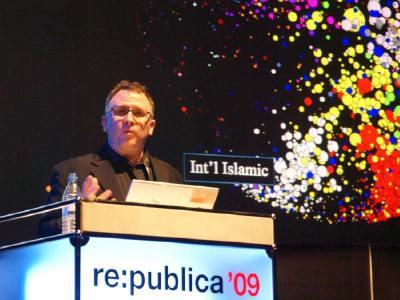 John Kelly auf der re:publica 2009 | Foto: Fiete Stegers